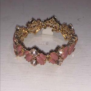 Mauve Gold fashion bracelet